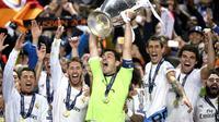Real Madrid meraih gelar La Decima di Liga Champions dengan mengalahkan Atletico Madrid.