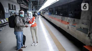 FOTO: Penambahan Perjalanan Kereta Jarak Jauh Telah Beroperasi