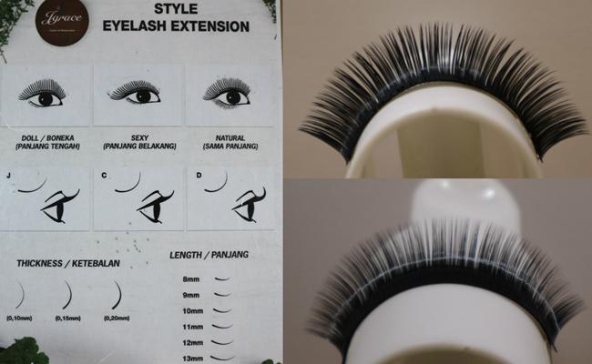 Bulu mata terbuat dari mink/copyright Vemale.com
