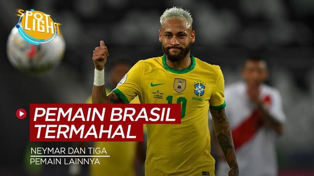 Berita video spotlight tentang empat pesepak bola Brasil dengan nilai transfer tertinggi sepanjang sejarah.