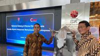 Sandiaga Uno bersama Founder KAHMIPreneur dan juga anggota komisi XI DPR RI, Kamrussamad di Jakarta. (Istimewa)