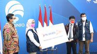 XL Axiata akhirnya mendapatkan SKLO untuk menggelar layanan 5G di Indonesia. (Foto: Kemkominfo)