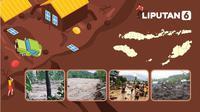 Banner Infografis Banjir Bandang Terjang NTT. (Liputan6.com/Abdillah)