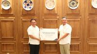 Asuransi Jasindo baru saja menyelesaikan pembayaran Klaim Asuransi kepada PT Trasportasi Gas Indonesia (Transgasindo) (dok: Jasindo)