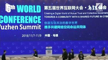 China kembali gelar Konferensi Internet Dunia yang ke-5. Konferensi membahas tentang kerjasama tekonologi internet global.