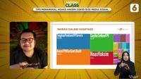 Ismail Fahmi ketika menjadi narasumber di Virtual Class.