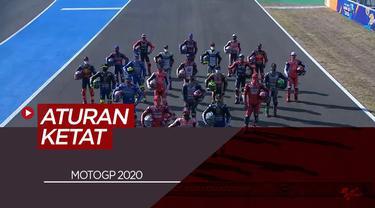 Berita Video Kembali Bergulir, MotoGP 2020 Terapkan Protokol Kesehatan yang Ketat