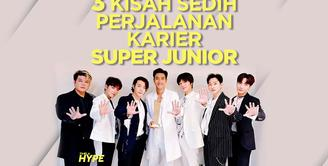 Bagaimana kisah sedih perjalanan karier Super Junior? Yuk, kita cek video di atas!