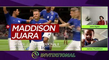 Berita video keseruan yang terjadi saat pemain Leicester City, James Maddison, menjadi juara turnamen ePremier League Invitational edisi kedua dengan bermain gim FIFA 20.