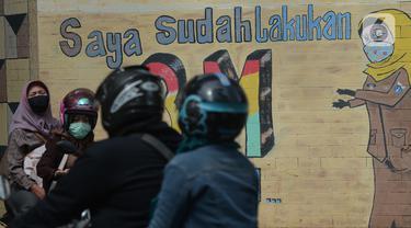 Kampanye Gerakan 3M Lewat Mural