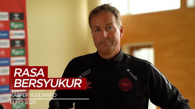 Berita Video, Rasa Bersyukur Pelatih Timnas Denmark atas Kejadian Christian Eriksen di Euro 2020