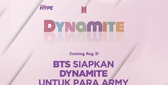 Single Baru BTS Dynamite yang Berbahasa Inggris