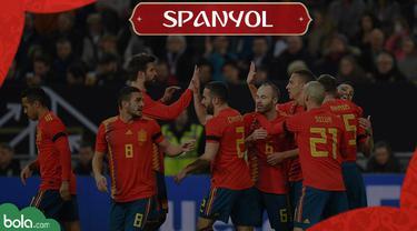 Berita Video Profil Tim Piala Dunia 2018, Spanyol yang Bertabur Bintang