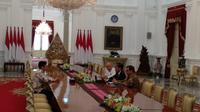 CEO Bukalapak Achmad Zaky bertemu dengan Presiden Joko Widodo. (Foto: Ist)