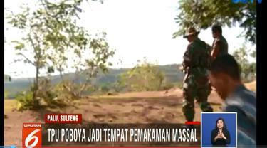 Minggu siang, Panglima TNI dan Menteri Sosial meninjau langsung ke lokasi dan memastikan liang lahat akan segera siap.