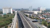 Jalan tol layang Jakarta-Cikampek (dok: PUPR)