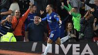 Eden Hazard masih betah di Chelsea (AFP)