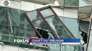 Enam karyawan restoran food court terluka akibat ledakan di Mal Taman Anggrek, Jakarta Barat.