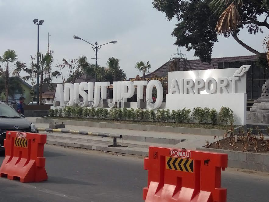 Bandara Adisutjipto Yogyakarta (Liputan6.com / Switzy Sabandar)