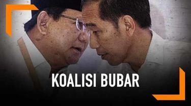 Wasekjen Partai Demokrat Rachlan Nashidik meminta Prabowo dan Jokowi membubarkan koalisinya. Pernyataan ini ditentang oleh para petinggi BPN dan TKN.
