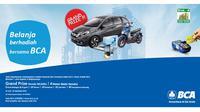 Program Belanja Berhadiah bersama BCA di Pusat Grosir Blok A Tanah Abang ini memiliki grand prize mobil Honda Mobilio.