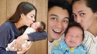 Paula Verhoeven dan Baby Kiano (Sumber: Instagram/