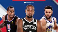 Jadwal NBA 2020/2021 di Vidio. (Dok. Vidio)