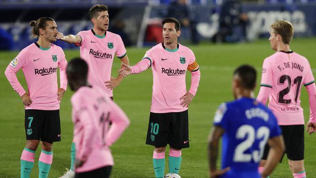 Reaksi Pemain Barcelona Usai Dipecundangi Getafe di Liga Spanyol