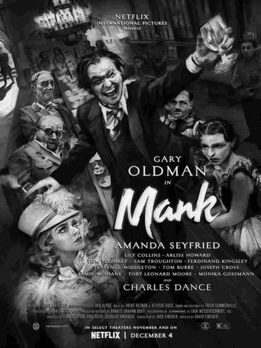 Gary Oldman dalam Mank. (Foto: Dok. Netflix/ IMDb)