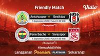 Turkish Cup, Fenerbahce Vs Sivasspor di Vidio. (Foto: Vidio)
