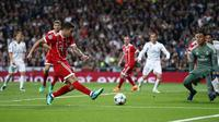 Gol James Rodriguez tak cukup membuat Bayern Munchen melangkah ke final Liga Champions 2018. (doc. UEFA)