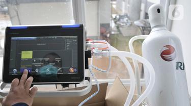 FOTO: Melihat Alat Pendukung Perawatan Pasien di RS Darurat COVID-19