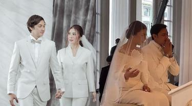 Resmi Jadi Suami Istri, Ini 6 Momen Haru Pernikahan Caesar Hito dan Felicya Angelista
