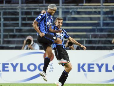 FOTO: Lumat Bologna, Atalanta Kembali Bertengger di Posisi Dua Klasemen