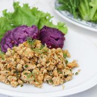 Ilustrasi Ayam Cincang Pedas ala Thailand./Copyright shutterstock.com