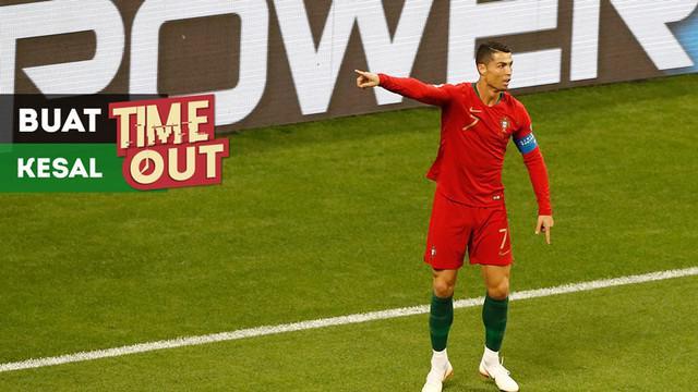 Berita video Time Out kali ini tentang Cristiano Ronaldo yang membuat kesal Pelatih Timnas Iran di Piala Dunia 2018.