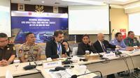 Kementerian Kelautan dan Perikanan (KKP) hari ini menggelar meeting Regional Investigative Case Meeting (RIACM) yang dihadiri oleh Satgas 115 serta perwakilan dari Interpol. (Merdeka.com/Yayu Agustini Rahayu)