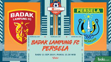 Badak Lampung FC Vs Persela Lamongan
