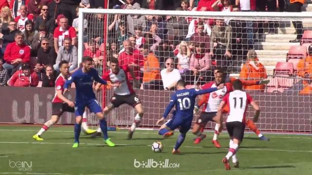 Olivier Giroud mencetak dua gol saat Chelsea berhasil menang comeback atas Southampton 3-2. This video is presented by Ballball.