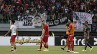 Skuat Persija setelah kalah 0-1 dari Bali United di Stadion Patriot Candrabhaga, Bekasi, Kamis (19/9/2019). (Bola.com/Yoppy Renato)