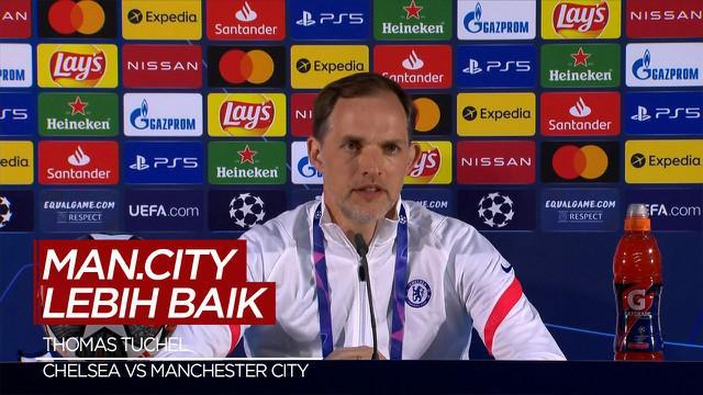 berita video wawancara Thomas Tuchel dan Pep Guardiola jelang Final Liga Champions antara Manchester City Vs Chelsea