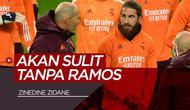 Berita video komentar Zinedine Zidane soal cederanya Sergio Ramos dan juga tentang Antonio Conte di Inter Milan