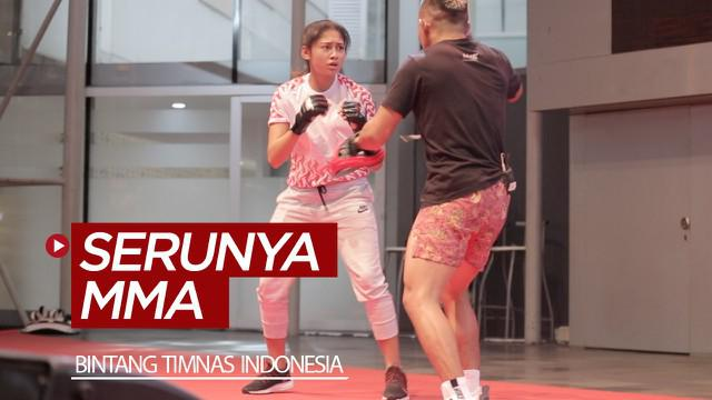Berita video dua bintang Timnas Indonesia, Firza Andika dan Zahra Muzdalifah, merasakan serunya MMA (Mixed Martial Arts) di event Meet and Greets jelang One Championship, Warrior's Code.