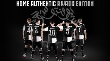 Tanding di Riyadh, Juventus Pakai Jersey Bahasa Arab