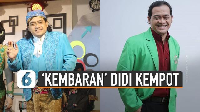 Banyak warganet yang terpukau dengan kemiripan pria ini dengan almarhum Didi Kempot.