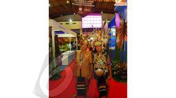 Acara APKASI tersebut juga diramaikan oleh berbagai macam kebudayaan daerah di seluruh Indonesia. JIExpo, Kemayoran, Senin (14/04/2014) (Liputan6.com/Miftahul Hayat).