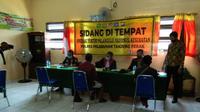 Operasi yustisi protokol kesehatan di Surabaya, Jawa Timur (Foto: Liputan6.com/Dian Kurniawan)