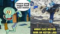 Meme cuci motor (Sumber: 1cak.com/me.me)