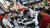 Honda PCX menjadi kotributor terbesar sepanjang penjualan motor Honda di PRJ