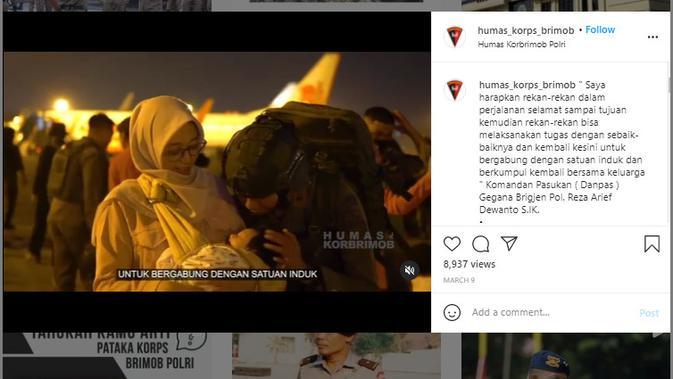 Cek Fakta Liputan6.com menelusuri klaim video tentara dari Indonesia berangkat ke Palestina